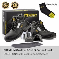 Safetoe High Quality Safety Shoes Fashion Design Work Shoes