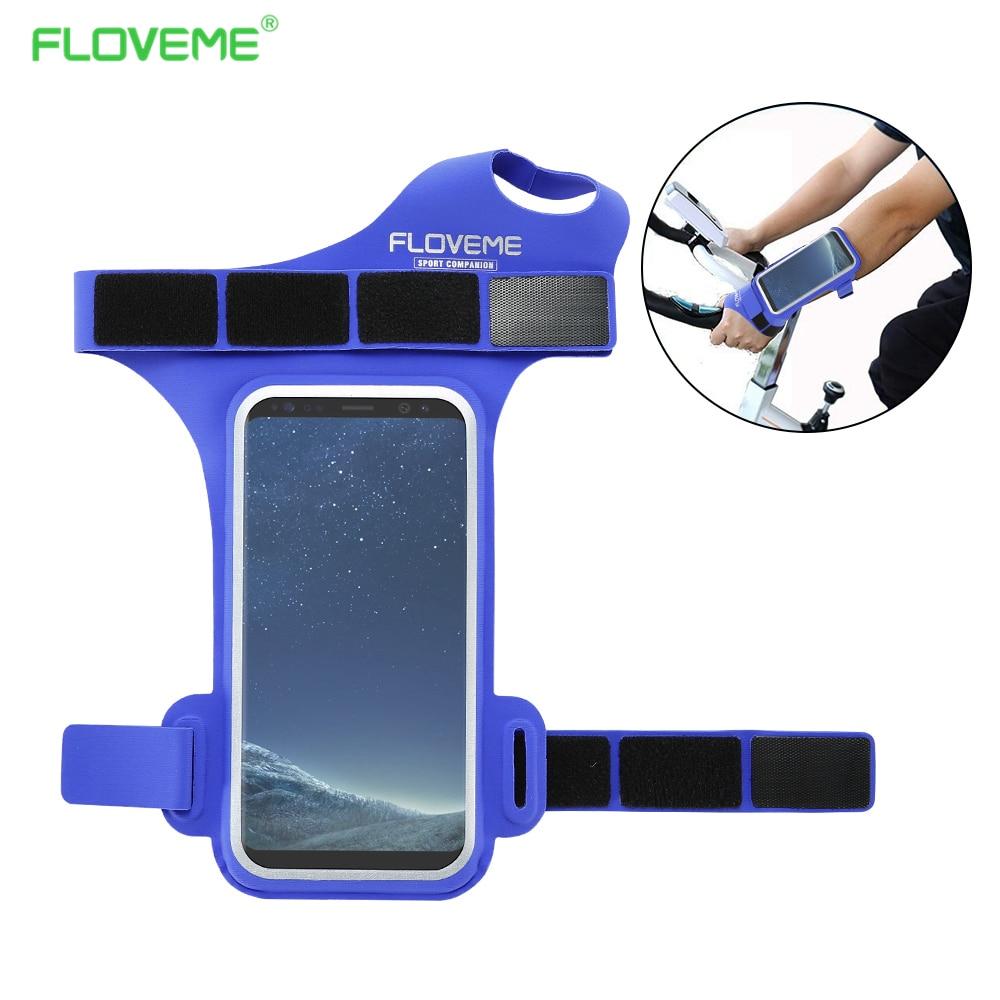 FLOVEME спортивный браслет телефон сумка Универсальный для всех 4,7 дюймов мобильных телефонов мешок для iPhone 6 6 S 7 8 водонепроницаемый ездить пов...