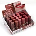 Miss Rose New 6pcs/set Waterproof Matte Lipstick Nude Red Batom Velvet Lips Tint Sexy Red Lip stick Beauty Long Lasting Makeup