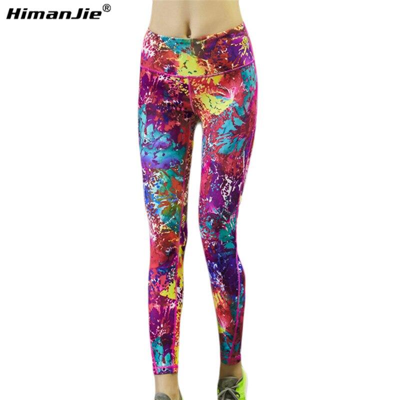 Prix pour Date Femmes Style Sport Serré Pantalon Coloré De Yoga pantalon Lumineux Couleur et Courir Leggings Fitness Gym Danse