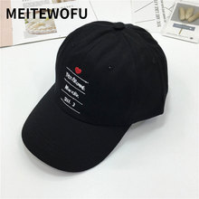 купить Men Sport Letter Embroidery Baseball cap Hot Casual Cotton Hip Hop Snapback Hat Women sun Caps Spring Summer wholesale Cute hats дешево