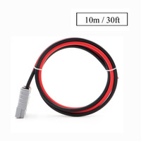 10m/30FT SH50 Plug 50A 600V Extend cable Battery Connector solar wire UPS RV Recreational Vehicle Battery quickly Connect