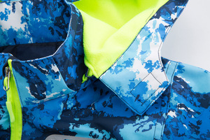 Image 5 - الفتيات الصبي معطف انفصال قبعة الخريف الشتاء ملابس خارجية سترة واقية معطف مقاوم للماء الأطفال سترة للأطفال مقنعين للبنين