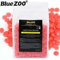 Hot Wax Pearl Bean Waxing 1000g Strawberry Taste Hard Wax Beads No Depilatory Paper Strips Beauty Flawless Facial Hair Removal