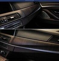 SUNICE Car Styling Wooden Grain Textured Vinyl Film Wrap Car Interior Sticker Decals Waterproof/Decoration PVC Vinyl Film