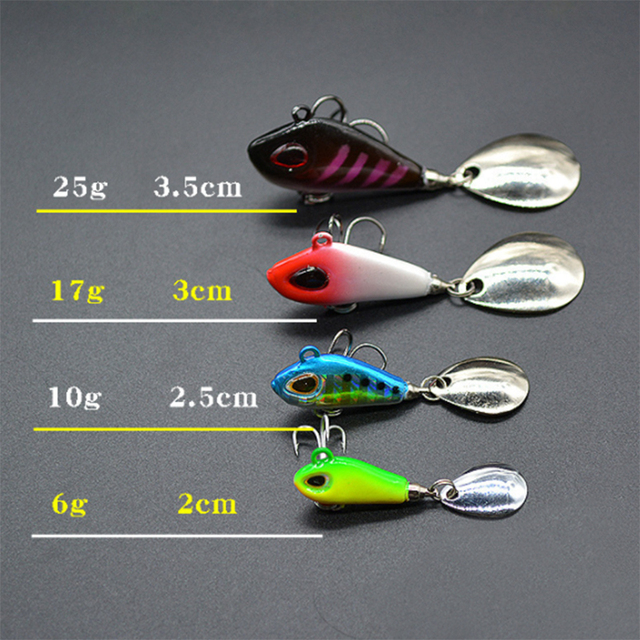 New Metal Mini Spoon Fishing Lure