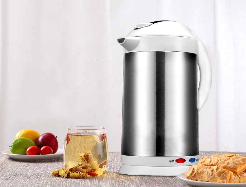 Electric water bottle kettle household integrated thermostat automatic power cut off thermal insulation large capacity electElectric water bottle kettle household integrated thermostat automatic power cut off thermal insulation large capacity elect