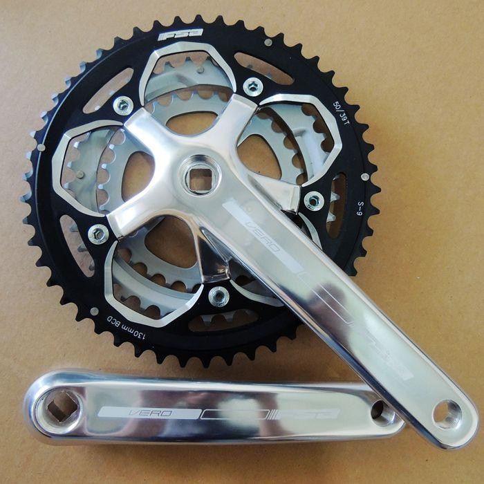 original FAAS aluminum CNC 9 speed 172.5mm 50*39*30 road bike folding bike crank chianwheel ellis faas румяна