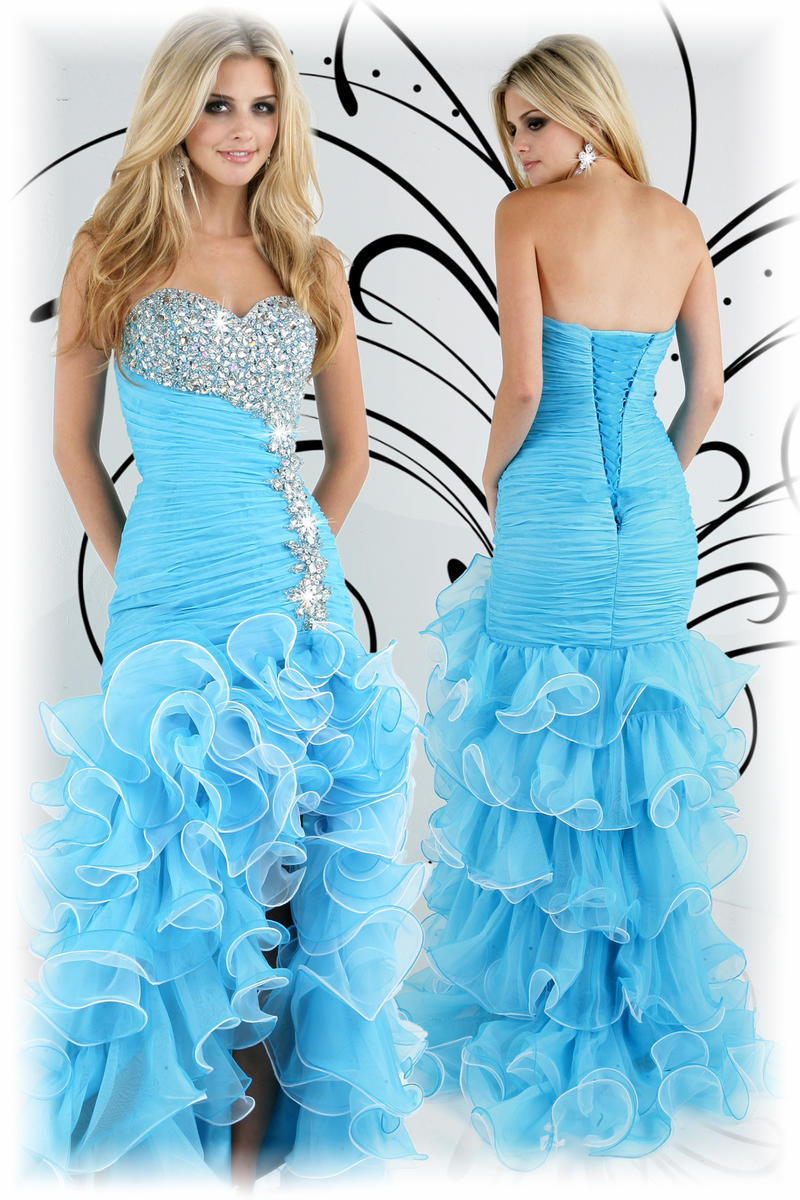 Plus Size Organza Mermaid Prom Dress – fashion dresses