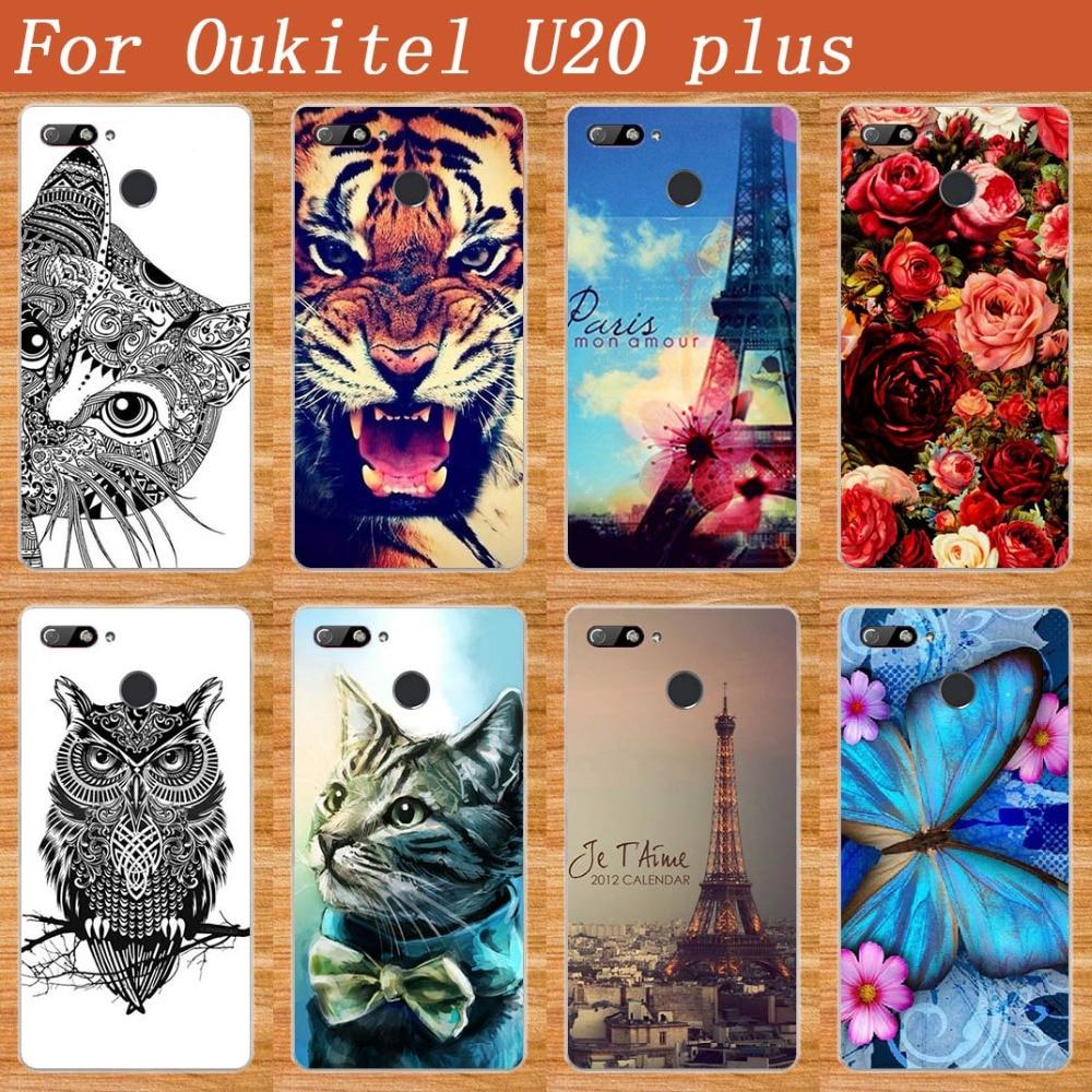 Oukitel u20 plus- ի դեպքում Case Cover Diy UV ներկով - Բջջային հեռախոսի պարագաներ և պահեստամասեր - Լուսանկար 1