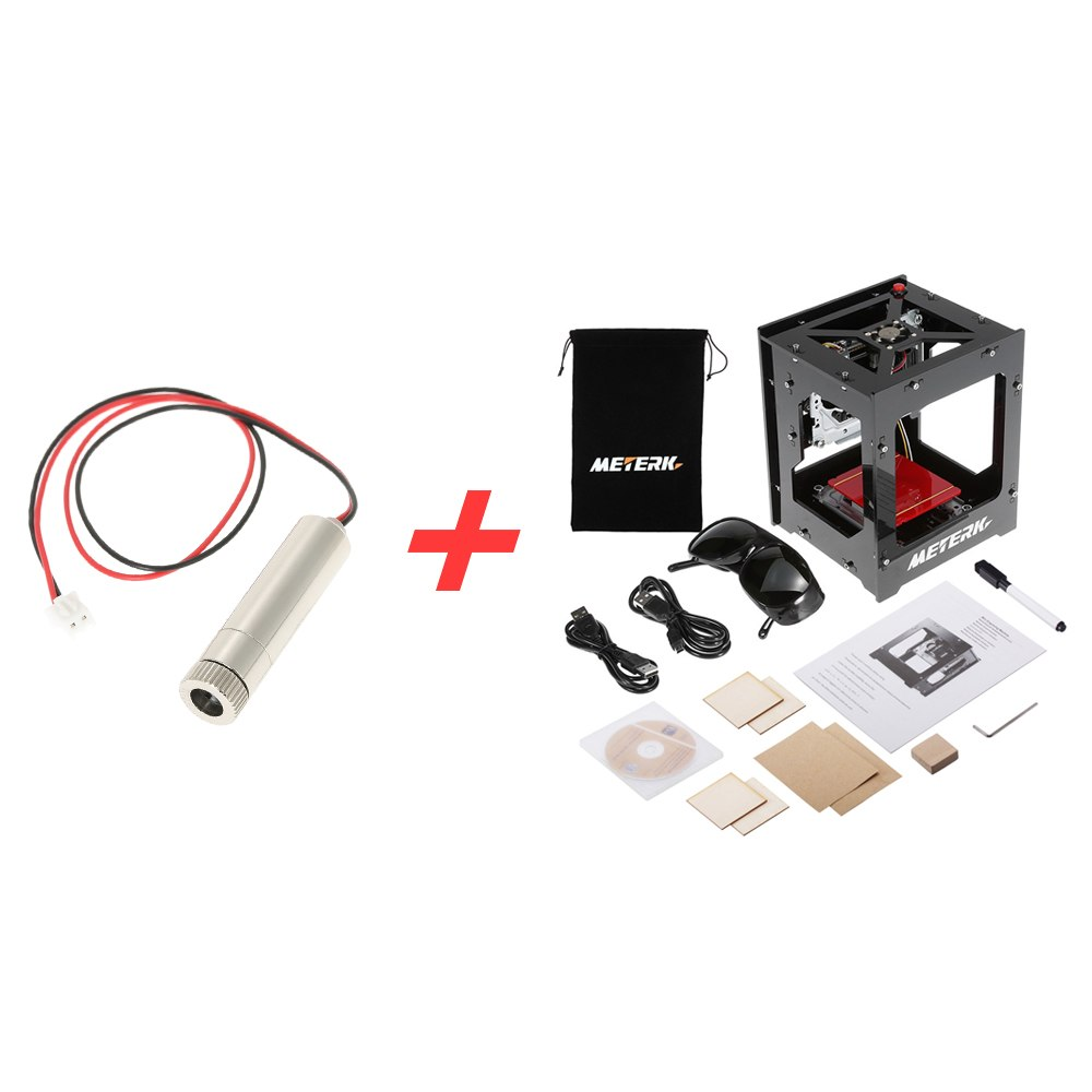 1000mW High Speed Mini USB Laser Engraver DIY Print Engraving Machine Off line Operation 1000mW 405nm