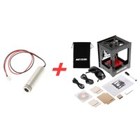 1000mW High Speed Mini USB Laser Engraver DIY Print Engraving Machine Off line Operation + 1000mW 405nm Violet Light Laser Head Wood Routers     -