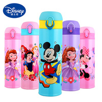 500ML Baby Insulated Bottle Winter Thermos Water Cup 2018 Kids School Kettle Stainless Steel Thermal Cup Warm Water Drink Direct