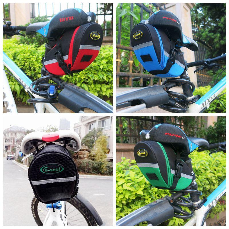 Mountain Road Bicycle Tail Bag Zadeltas Bike Pouch Pakket Fietsen - Wielersport