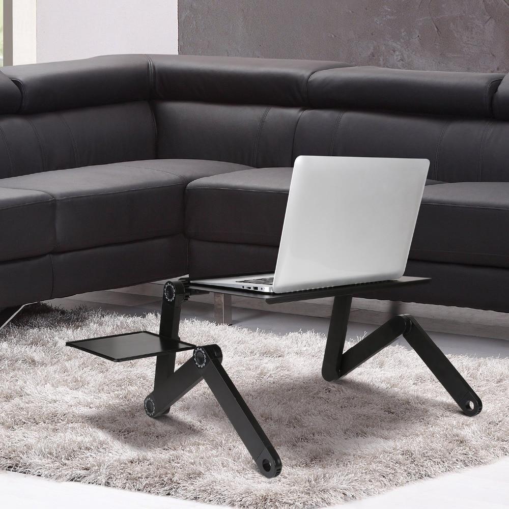 Hot DealsStand Table-Desk-Stand Mouse-Pad Ergonomic Notebook Laptop Desk Pc-Table Aluminum Tv-Bed