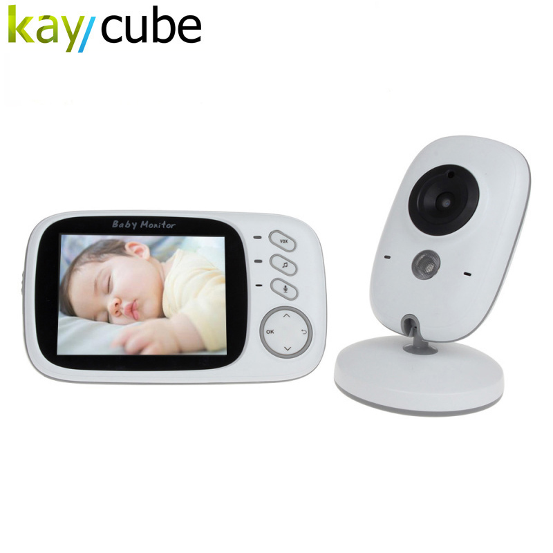 Baby Care Safety Portable Radio Set Portable Wireless Audio Baby Monitor With Temperature Bedwetting Alarm v20 audio baby monitor voice safety portable two way radio night baby crying baby room monitor