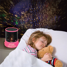 New LED Star Sky Nightlight Romantic Master Projector Starry Night Light Lamp lamparas 3d led luminaria lava lamp Children's