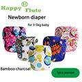 НОВЫЕ ПЕЧАТИ! счастливый Флейта 1 шт. крошечных новорожденных AIO детские ткань пеленки с хулиганом кнопку