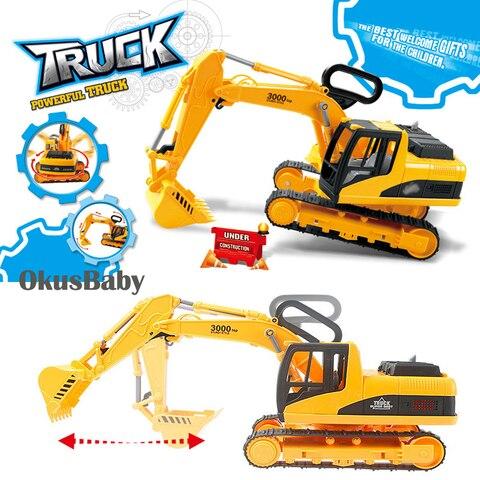 tamanho grande criancas emulational brinquedos escavadeira carro caminhao movel maquinas avental da roda do caminhao