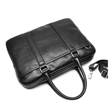 Businessman PU Leather Travel Briefcase