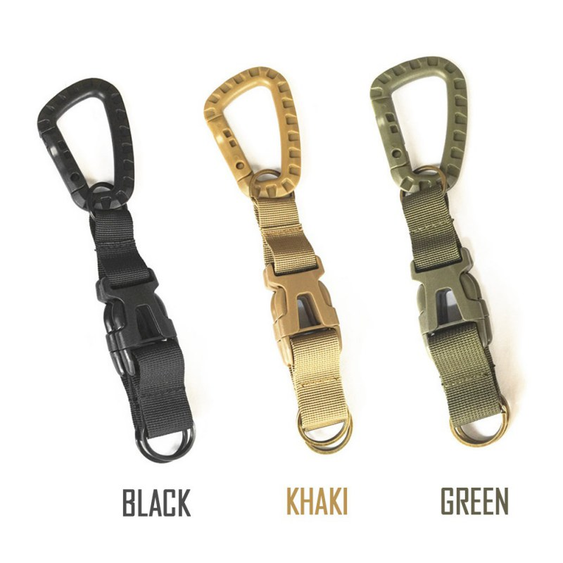 Multi-functional Combination Three-Ring Hook Buckle Climbing Sports Bag Accessories Tactical Pockets Backpack Hook Outdoor hyzf