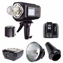 Godox AD600B TTL 600W Portable Wireless Strobe Flash Bowens Mount + X1T-C For Canon Flashes Lighting