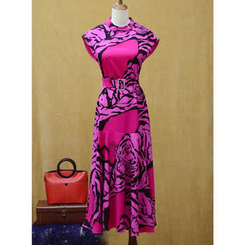 2019 new arrival animal leopard design pink black dress and cute summer women dress leopad black dress for girls - SALE ITEM - Category 🛒 Women\'s Clothing