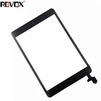 NEW Touch Screen Digitizer For IPad Mini 1 A1432 A1454 A1455 TP IC With Home Button