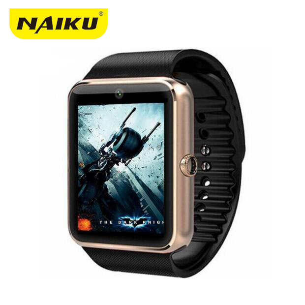 NAIKU GT08 Smart Watch Clock Bluetooth Support Sim Card Sync Notifier Connectivity For apple android phone pk u8 dz09 gv18 q18 new arrive gt08 smart watch bluetooth sim card slot push message bluetooth connectivity nfc for iphone android phoones