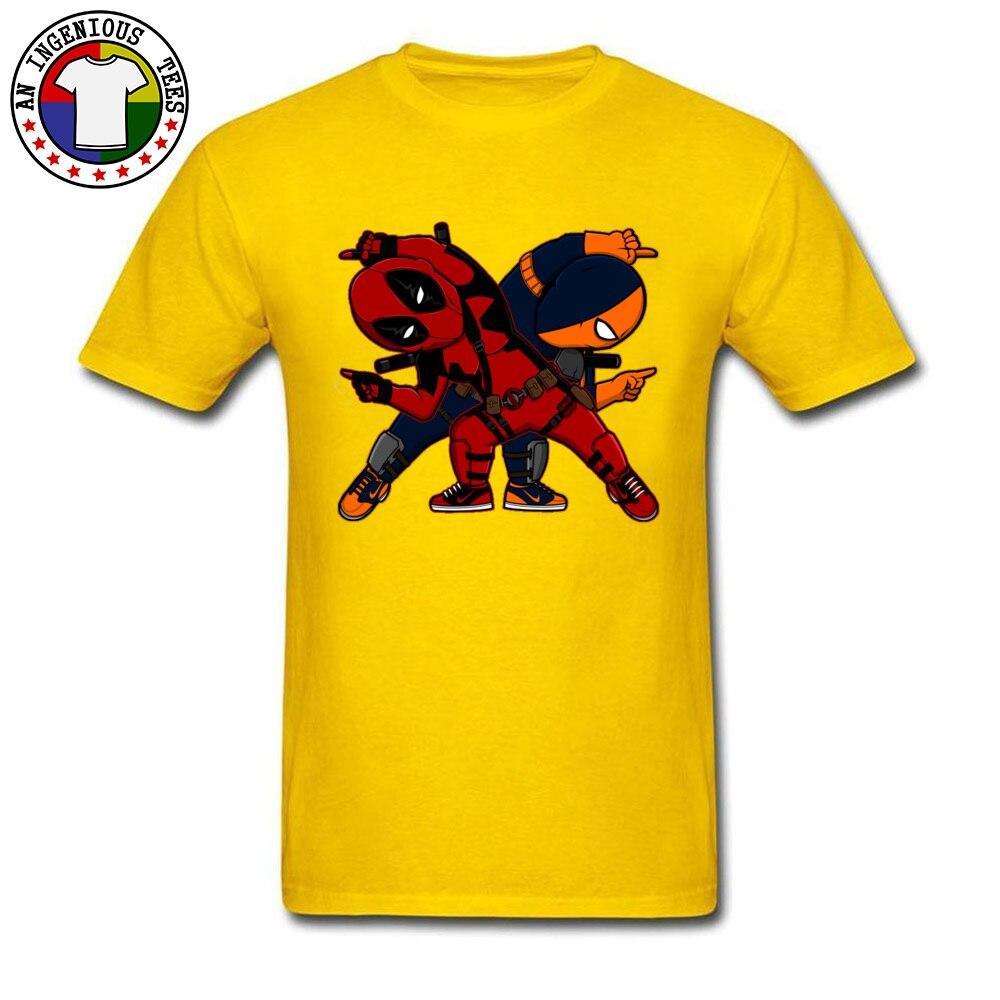 Deadpool Dead Fusion T Shirts NEW YEAR DAY Classic Marvel Superheroes Figure Cartoon Tops T-Shirt Deap Pool Avengers