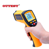 Digital IR infrared thermometer GM700 Non contact infrared thermometer laser thermometer gun 50~700C