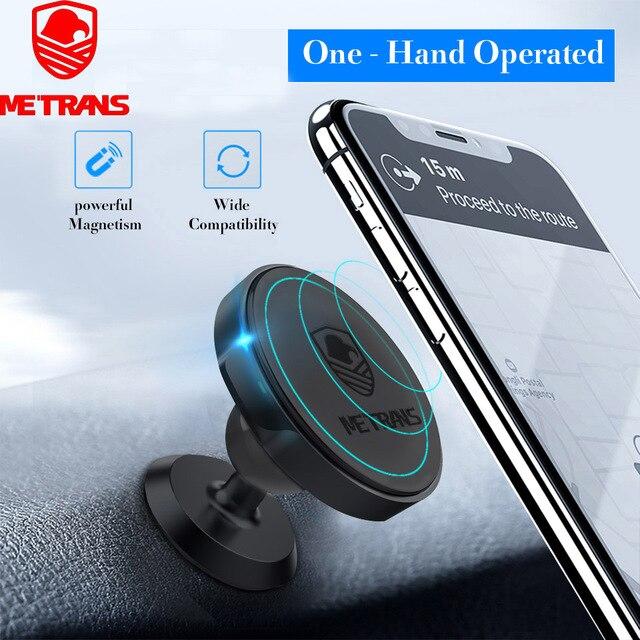 Support de téléphone magnétique pour voiture Matrans pour iPhone 360 aimant de Rotation support de voiture support de téléphone portable support pour samsung telefon tutucu