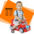 Colorido Kawaii Multifuncional Carro Do Bebê Potty Potties Crianças Higiênico Cadeira com Rodas Portátil roda de Brinquedo potty wc bebê Jordan