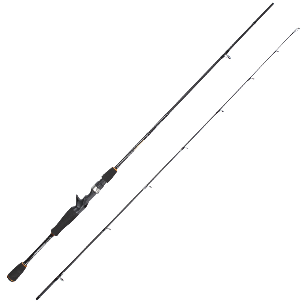 2pcs/pack 1.98M 662 M power fast action sensitive high carbon fiber 2 sections lure fishing rod bass fishing pesca rod pole-in Fishing Rods from Sports & Entertainment    1