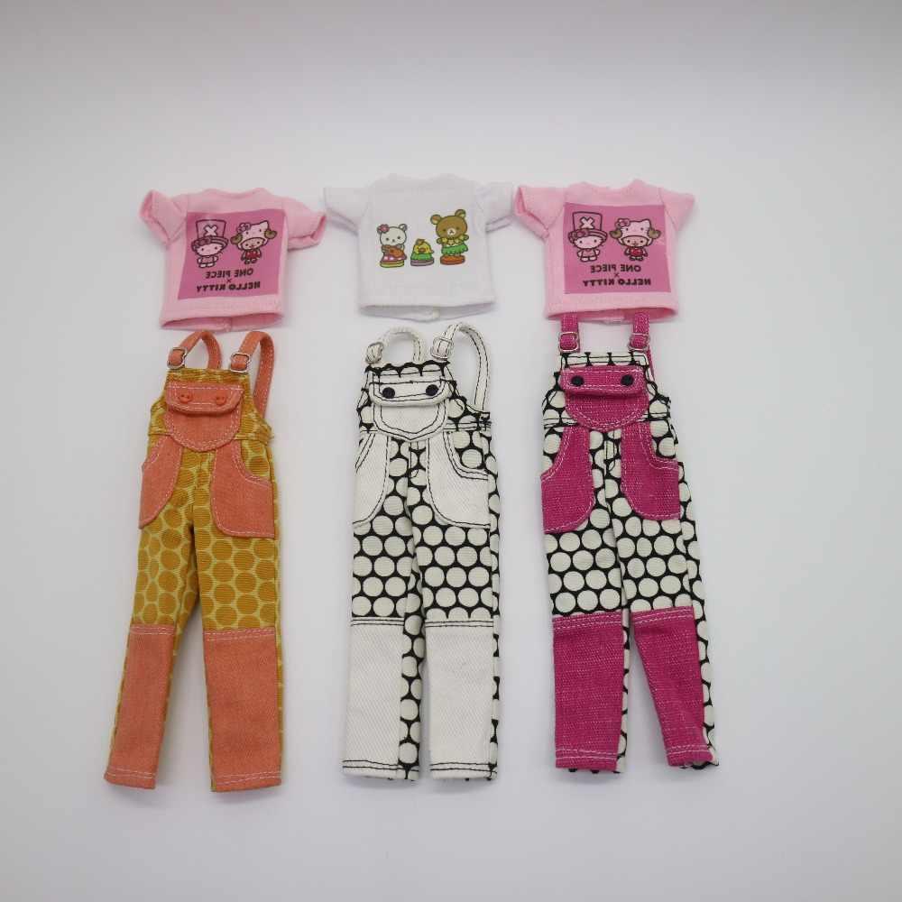 ブライス人形服tシャツとパンツ