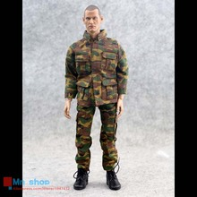 1/6 Action Figure Accessories Clothing Russian Camouflage Jacket / Pants BDU Model Fit 12″ Male Figure Doll Body