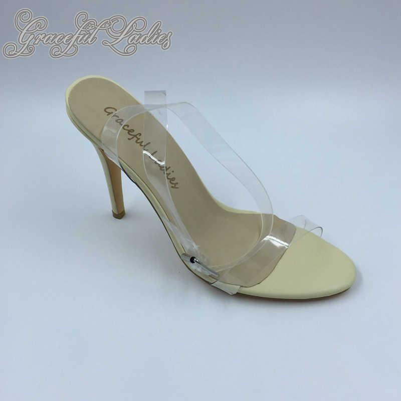 35d33daa3140 Detail Feedback Questions about Cheap Transparent PVC Low Heel Women ...
