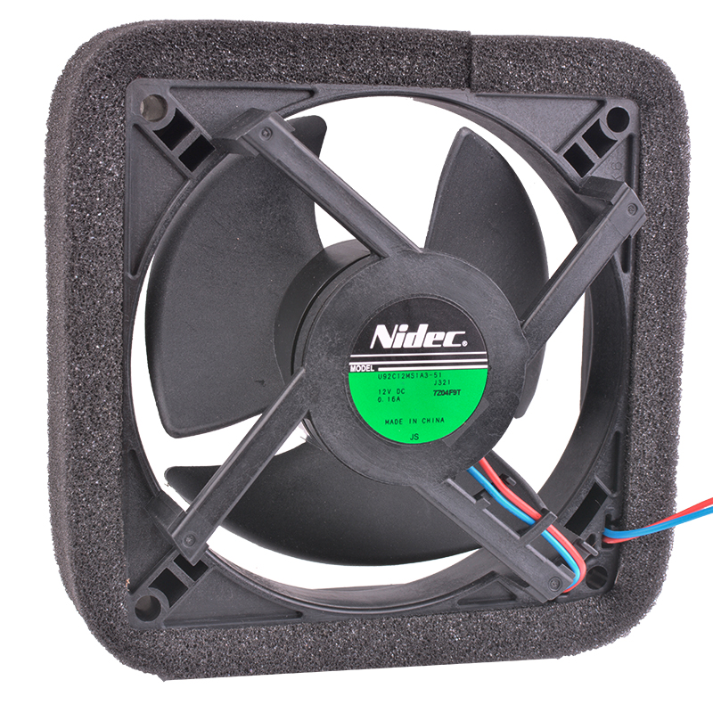 COOLING REVOLUTION U92C12MS1A3-51 9cm 92mm 12V 0.16A Brand new original refrigerator cooling fan nmb new and original fba09a12m 9025 9cm 12v 0 2a chassis silent cooling fan 90 90 25mm