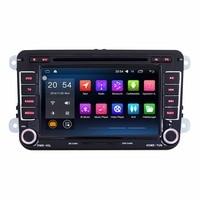 7'' Quad Core 1024*600 2 Din Android 6.0.1 Auto Radio For Volkswagen/VW polo/passat/golf 4 5 6/bora/touran/jetta/seat Car Audio