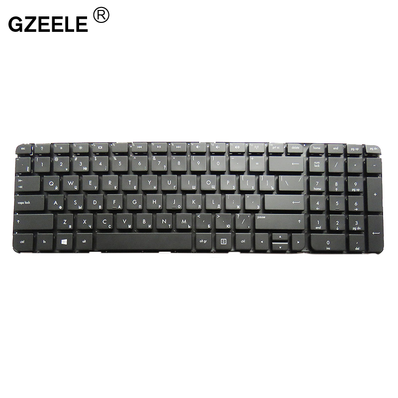 Image 2 - Russian laptop Keyboard for HP Pavilion DV7 7000 DV7 7100 dv7t 7000 dv7 7200 dv7 7001EM RU NSK CJ0UW without frame 670323 251-in Replacement Keyboards from Computer & Office on