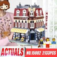 2017 New 2133 Cái LEPIN 15002 Quán Cà Phê Góc Xây Dựng Mô Hình Kits Blocks Kid Đồ Chơi Quà Tặng Tương Thích Với LegoINGys 10182