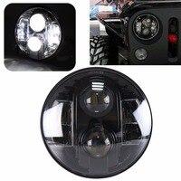 7 Round LED Head Lamp 80W Car Led Headlights H4 H13 For Jeep Wrangler Toyota Harley