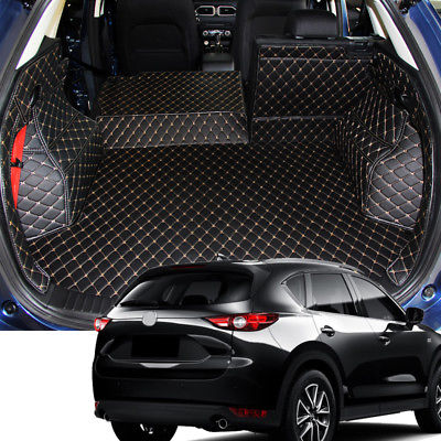 Car Interior Rear Boot Cargo Trunk Mat Pad For Mazda CX-5 2nd Gen 2017 - 2018
