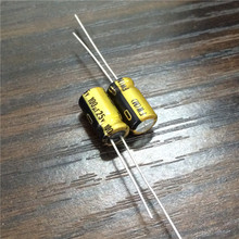 10 шт. 100 мкФ 25 В NICHICON серии FW 6,3×11 мм 25V100uF аудио Алюминий электролитический конденсатор