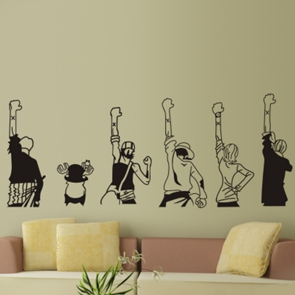 Anime Wall Art compare prices on japanese wall sticker anime- online shopping/buy