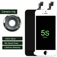 100% AAA Grade Brand New 20 pz ordine della miscela per iPhone 5 S Display LCD touch screen digitizer assemblaggio di parti di ricambio DHL nave
