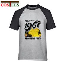 4d1b1e376 Funny Made in 1967 All Original Parts Men's T shirt 50th Birthday Gift Tee  perfect present