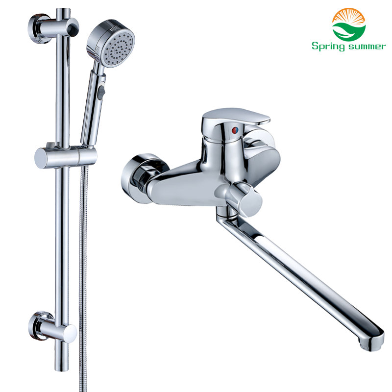 securing the rods new bathroom faucets   SPRING SUMMER set 30cm length outlet rotated Bathroom ...