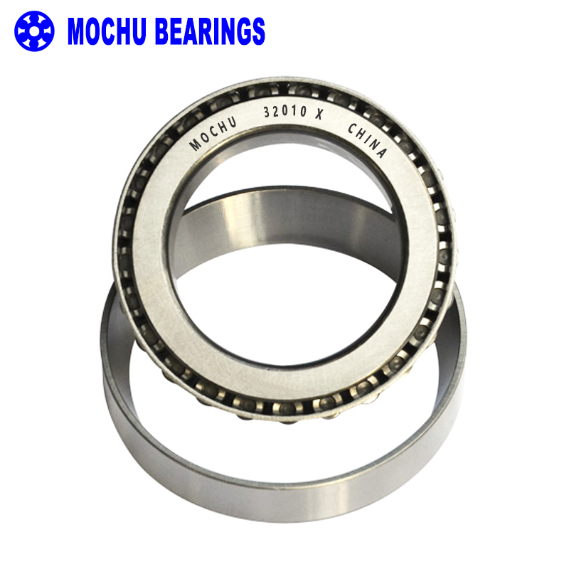 1pcs Bearing 32010 X 50x80x20 32010-X 32010X/Q 2007110 E Cone + Cup MOCHU High Quality Single Row Tapered Roller Bearings1pcs Bearing 32010 X 50x80x20 32010-X 32010X/Q 2007110 E Cone + Cup MOCHU High Quality Single Row Tapered Roller Bearings