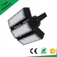 Новая Светодиодная лампа 200 Вт 300 Вт 400 Вт 500 Вт отражатель прожектор Регулируемый туннельный свет Ac85-265v Водонепроницаемый Открытый гарген